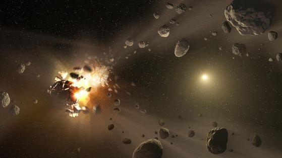 Астероид удари Земята с 5 килотона TNT миналия уикенд