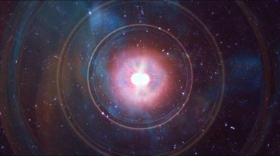 Сблъсъкът на неутронни звезди дава нова оценка на скоростта на разширяване на Вселената (видео)